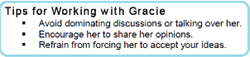 Tips for Working with Gracie