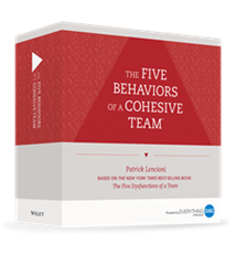 The Five Behaviors® Team Development Facilitation Kit