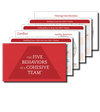 The Five Behaviors of a Cohesive Team® Take-Away Cards (Set of 20)